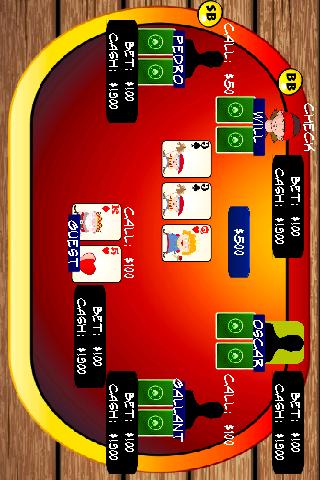 賭場撲克 - 德州撲克