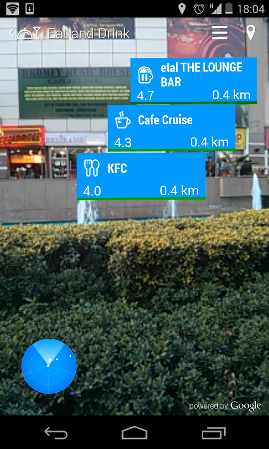 World Around Me (WAM) Lite - screenshot