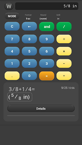 Worker Fraction Calculator Pro