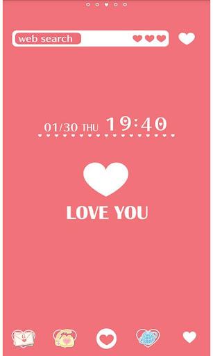 Heart Wallpaper LOVE YOU! 1.1 Windows u7528 1