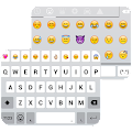 App Emoji Keyboard - White, Smart APK for Windows Phone