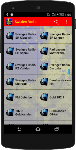 Sweden Radio - Music Streaming