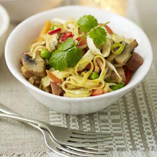 Turkey Singapore Noodles Recipe