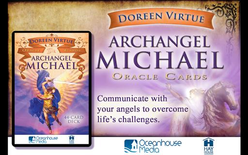 【免費生活App】Archangel Michael Oracle Cards-APP點子
