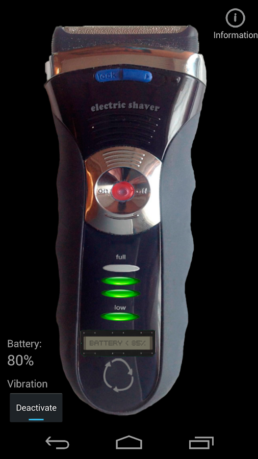 Electrical shaver free- screenshot