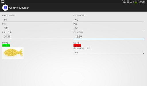 TaGramPriceCounter 1.1.0 screenshots 3