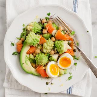 Romanesco & Chickpea Salad