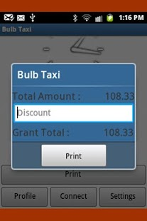 BULB4 Taxi Billing APP withGPS- screenshot thumbnail