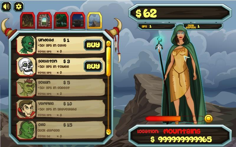 Epic Fantasy Clicker- screenshot
