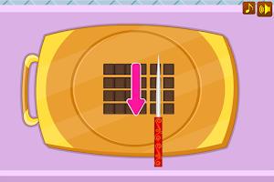 Screenshot of Chocolate royal cake game