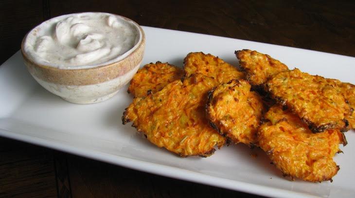 Cheesy Sweet Potato Crisps Recipe
