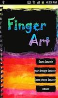 Screenshot of FingerArt