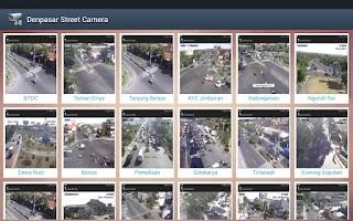 Screenshot of Denpasar Street Camera