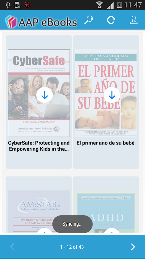 AAP eBooks Reader- screenshot