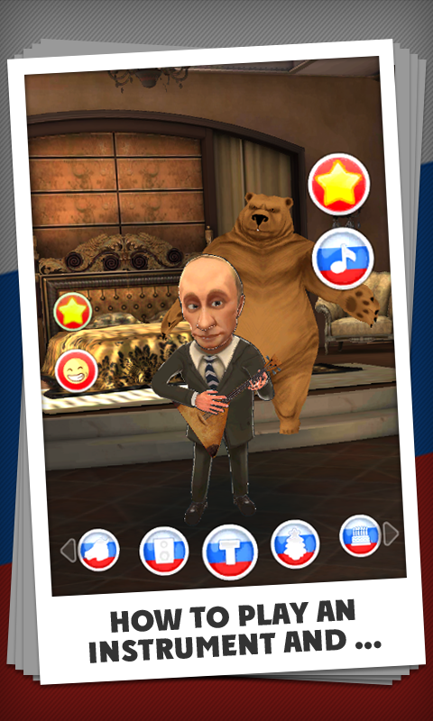 Talking Putin - screenshot