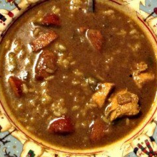 After Thanksgiving Turkey/Chicken & Sausage Gumbo