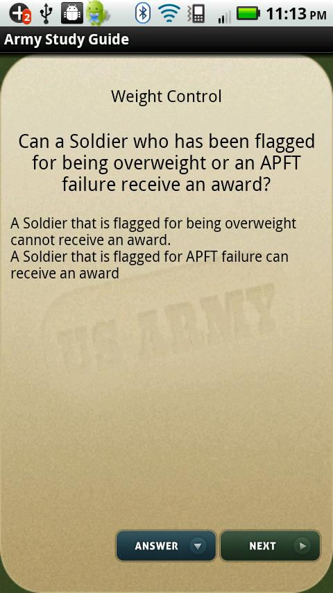 Army Study Guide - screenshot