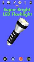 Screenshot of Disco Light™ LED Flashlight