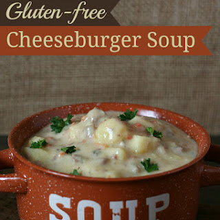 Cheeseburger Soup {Gluten-free}