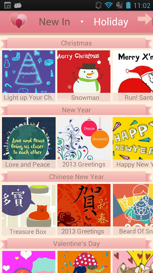 HeartyBit Cards-WeChat Support- screenshot