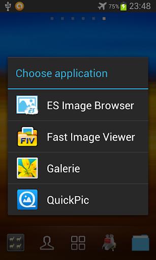 ICS App Picker