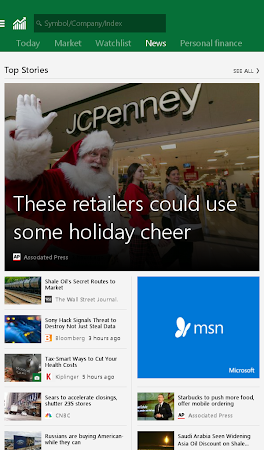 MSN Money- Stock Quotes & News 1.1.0 screenshot 18741