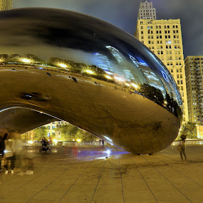 Chicago Bean by VAM Photography - Artistic Objects Other Objects ( bean, art, travel, chicago, places, , Urban, City, Lifestyle )