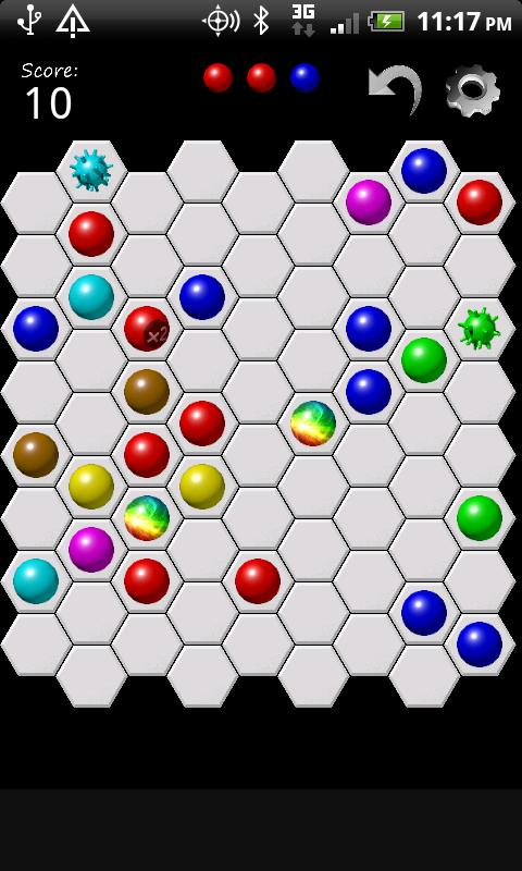 Hex Lines - screenshot