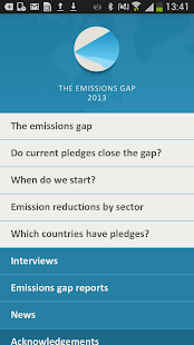 The emissions gap - screenshot thumbnail