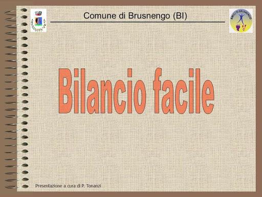 Progetto Bilancio Facile