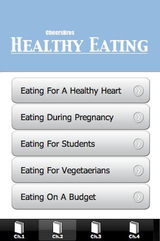 Healthy Eating- screenshot