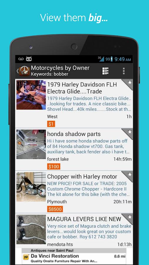 Postings (Craigslist App) - screenshot