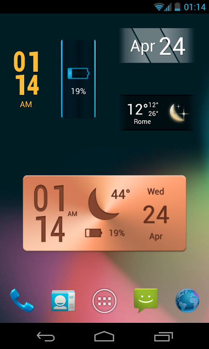 Best Widgets - screenshot