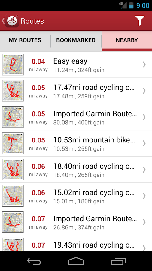 MapMyRide+ GPS Cycling Riding - screenshot