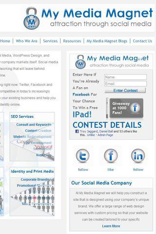 Media Magnet Social Media Blog - screenshot