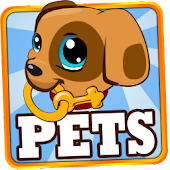 APK Game My Little PET HOTEL: Baby Pets for BB, BlackBerry