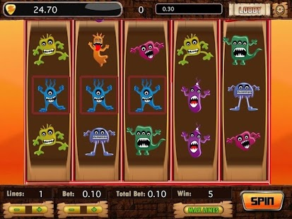 Angry Monster Slot Machines - screenshot thumbnail
