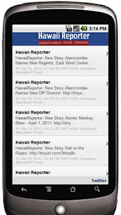 Hawaii Reporter - screenshot thumbnail