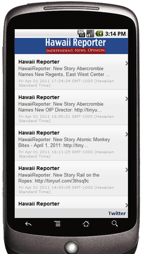 Hawaii Reporter- screenshot