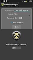Screenshot of Free WiFi hotspot