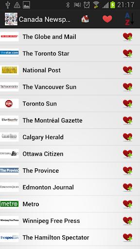 加拿大报纸和新闻