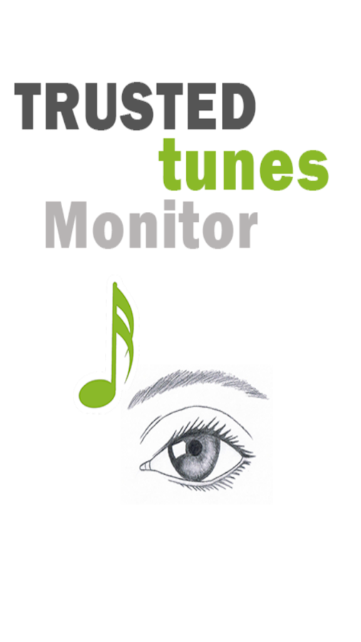 TRUSTEDTunes Monitor- screenshot