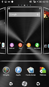 Xperia theme Full Metal v3.0