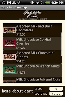 The Chocolate App - screenshot thumbnail