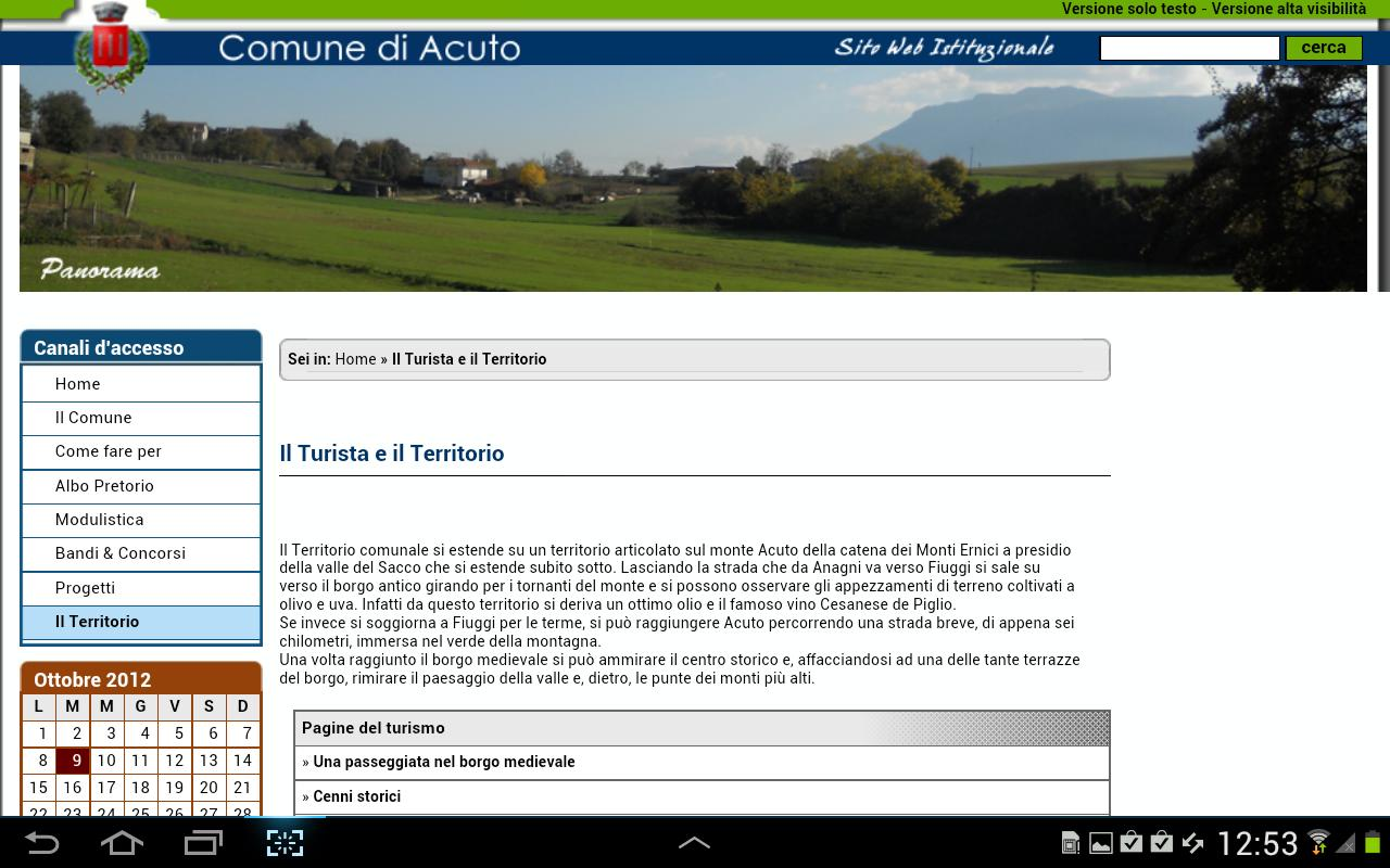 Acuto - screenshot