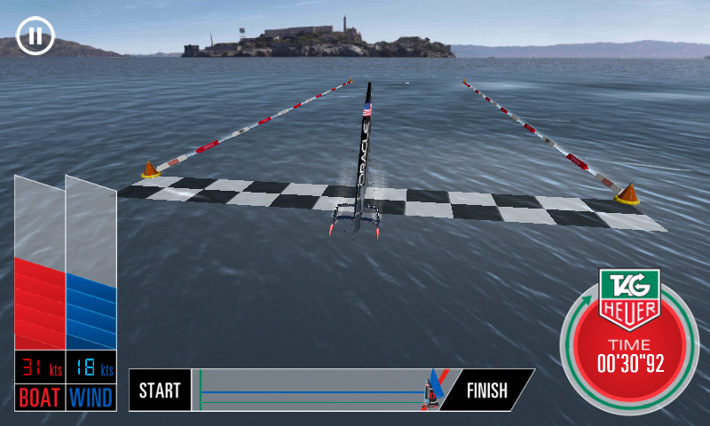 Oracle Team USA Speed Trial - screenshot