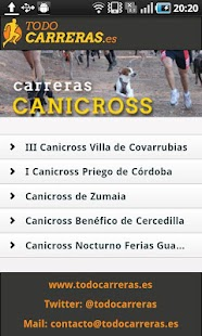 Todo Carreras Populares- screenshot thumbnail