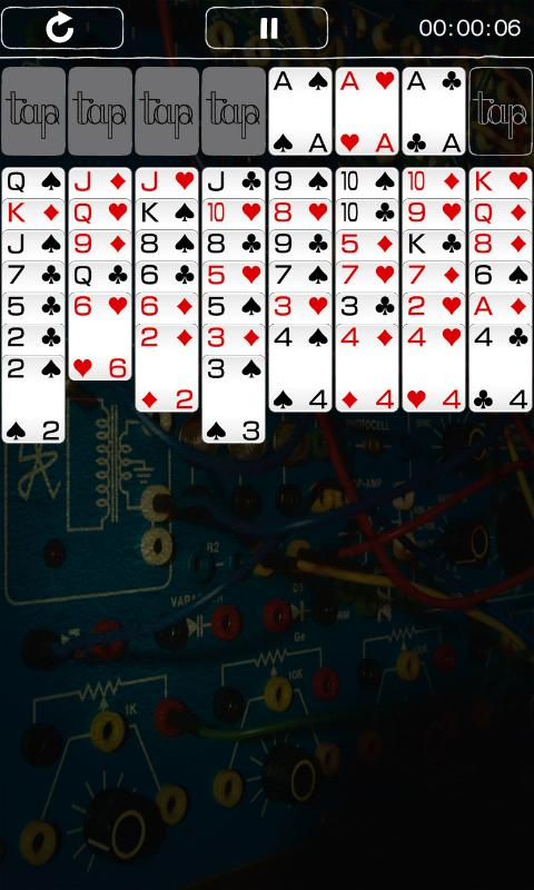 Tap Solitaire - screenshot