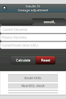 Screenshot of Insulin Therapy