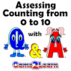 Assessing Counting to 10 icon